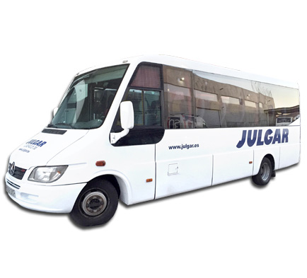 minibuses for companies in Madrid